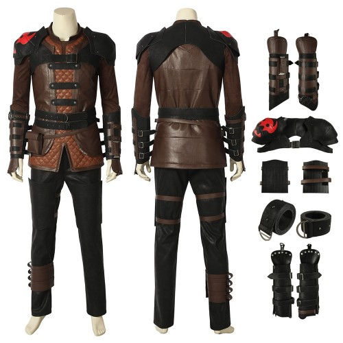 Hiccup Cosplay Costume How to Train Your Dragon 3 Top Level