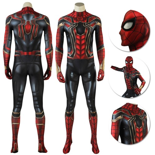 Iron Spider-Man Suit High Details 3D Printed Spider Man Cosplay Costume