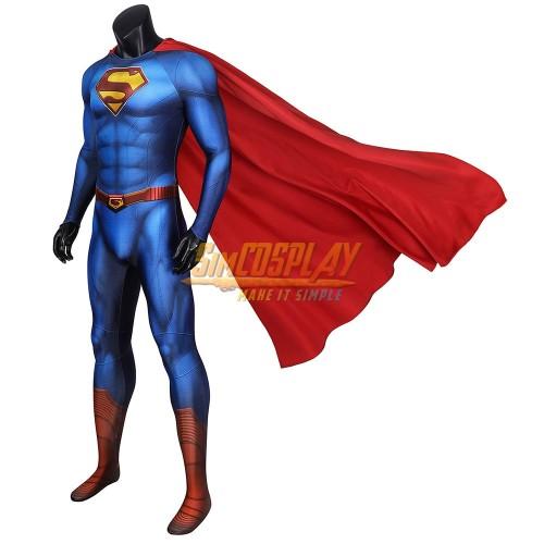 Superman Cosplay Suit Superman & Lois Clark Kent Costume SimCosplay