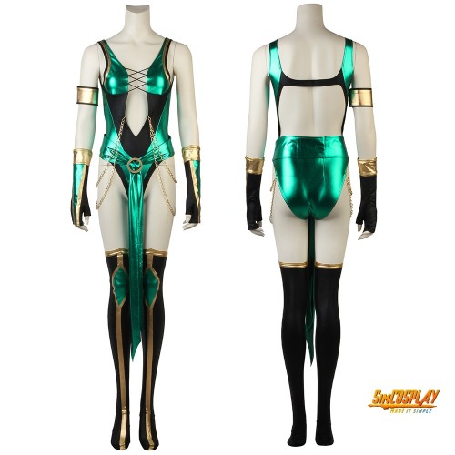 Jade Cosplay Costume Mortal Kombat Cosplay Outfits