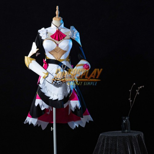 Genshin Impact Noelle Cosplay Costumes Promotional Edition