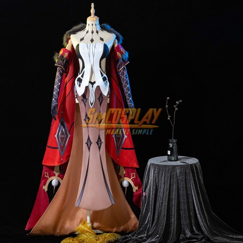 Genshin Impact The Fair Lady Signora Cosplay Costumes Promotional Edition