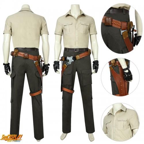 Jumanji Cosplay Costume Spencer Dr. Smolder Bravestone Suit