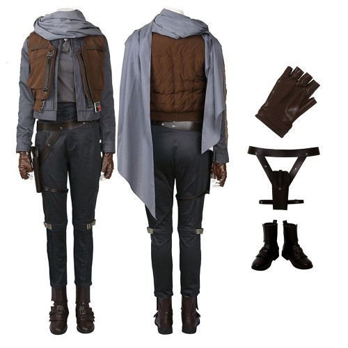 Jyn Erso Costume Rogue One: A Star Wars Story Cosplay Costume Top Level