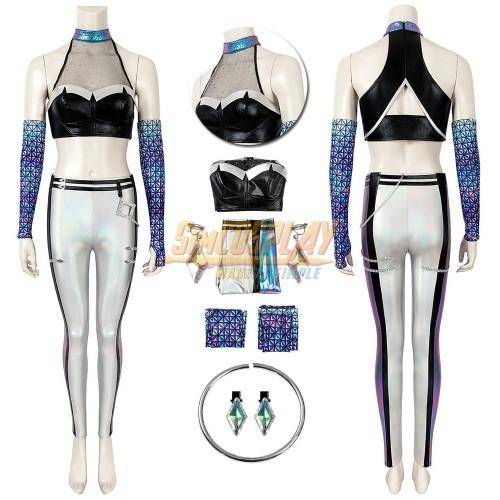 KDA All Out Kai'Sa Cosplay Costume LOL KDA Cosplay Suit Ver.1