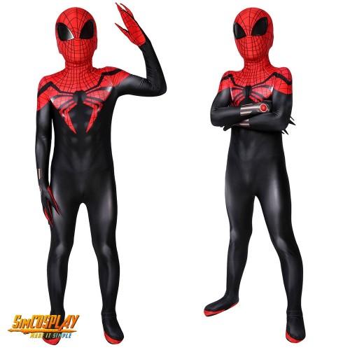 Kids Superior Spider-man Suit Spandex Cosplay Costume SKD19017