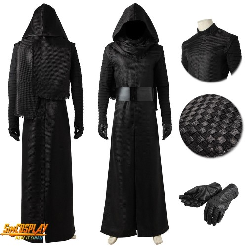 Kylo Ren Costume The Force Awakens Classic Cosplay Suits Sac3962