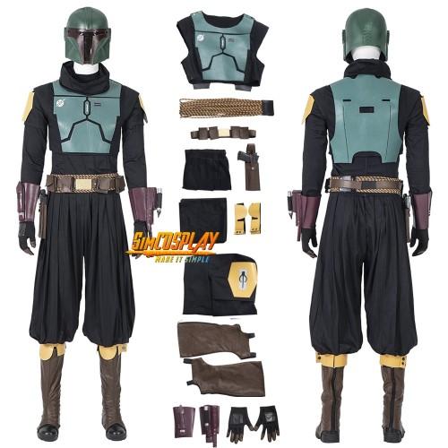 Mandalorian Boba Fett Cosplay Costumes Star Wars Cosplay Suit Top Level