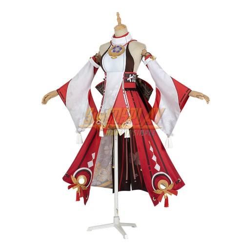 Genshin Impact Yae Miko Cosplay Costume Custom Size Supported