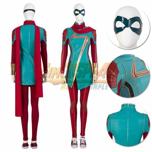 Ms.Marvel Cosplay Costume Kamala Khan Cosplay Suit SimCosplay