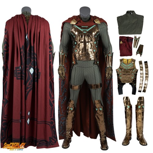 Mysterio Cosplay Costumes Spiderman Far From Home Quentin Beck Cosplay Suits Top Level