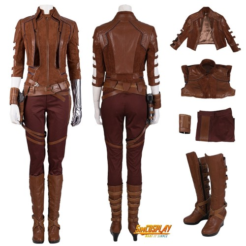 Avengers Endgame Nebula Cosplay Costume Suit Type A Top Level