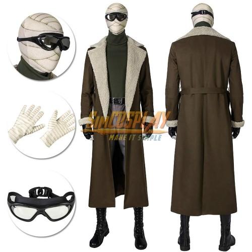 Negative Man Costume Doom Patrol Season 1 Larry Trainor Cosplay Suit Top Level