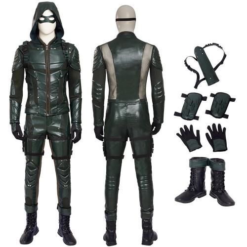 Oliver Queen Cosplay Costume Green Arrow Season 5 Cosplay
