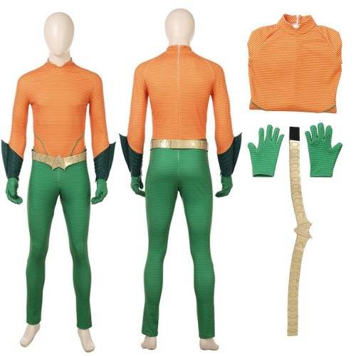 Arthur Curry Cosplay Costume DC Superhero Costumes