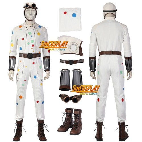 Polka-Dot Man Cosplay Costumes The Sucide Squad 2 Dress Up Cosplay Suit