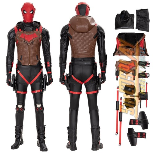 Red Hood Jason Todd Cosplay Costumes Gotham Knights Cosplay Top Level