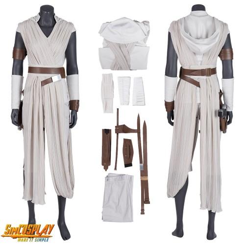 Rey Costume Star Wars The Rise Of Skywalker Rey Cosplay Suit