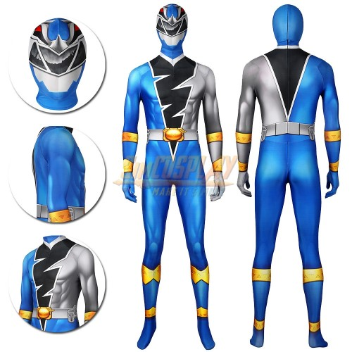 Ryusoul Blue Cosplay Costumes the Blue Ranger of the Ryusoulgers Suit
