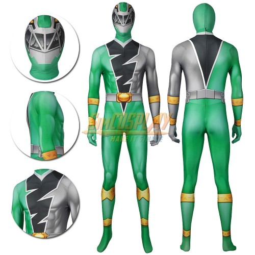 Ryusoul Green Towa Cosplay Suit Green Ranger of the Ryusoulgers Costume
