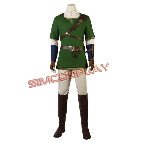 Link Hero Tunic Cosplay Costume The Legend of Zelda: Twilight Princess Version