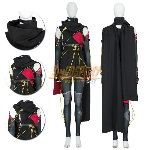Scarlet Nexus Kasane Randall Cosplay Costumes Custom Size Supported