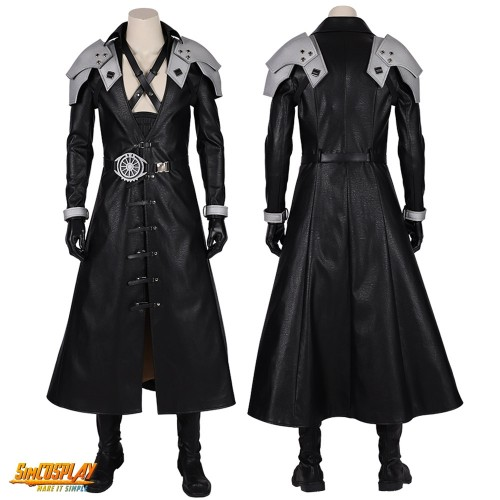 Sephiroth Cosplay Costumes FFVII Remake Sephiroth Cosplay Suit Top Level