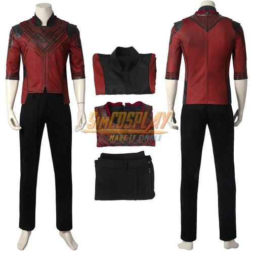 Shang-Chi Cosplay Costumes Custom Size Supported Ver.2