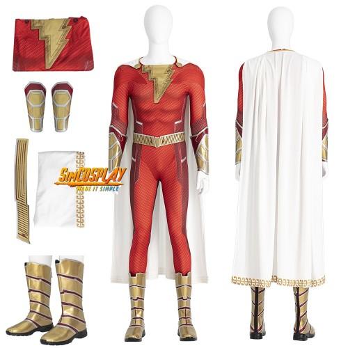 Shazam 2 Fury of the Gods Cosplay Costume Top Level