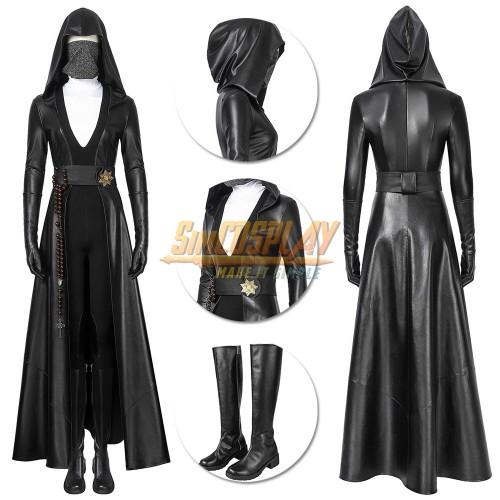 Sister Night Cosplay Costume Watchmen Season 1 Angela Abar Suit Top Level