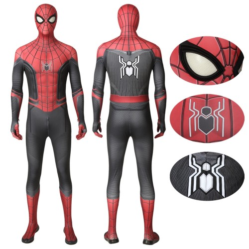 Spider-Man Far From Home Peter Parker Cosplay Costumes Deluxe