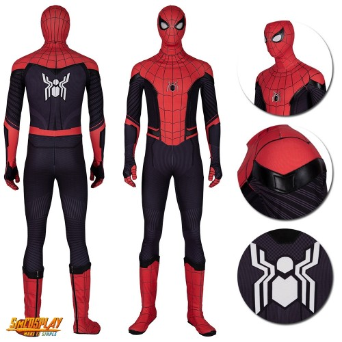 Spider-Man Far from Home Peter Parker Cosplay Costumes Top Level