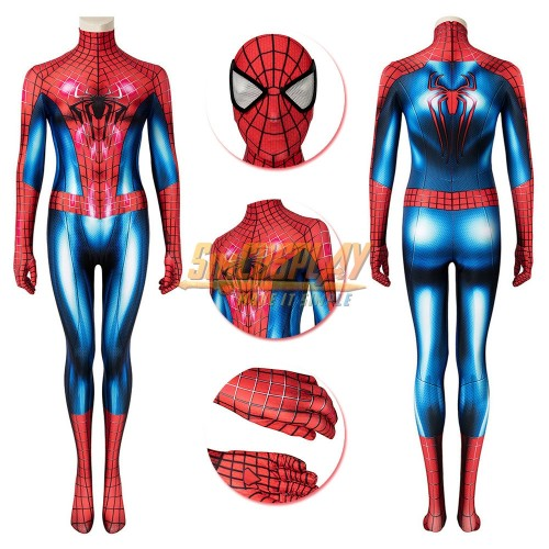 Spider-man Girl Cosplay Costume Tobey Maguire Edition Spider-man Female Cosplay Suit