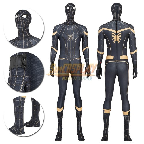 Spider-man No Way Home Peter Parker Cosplay Costume Thick Fabric Edition