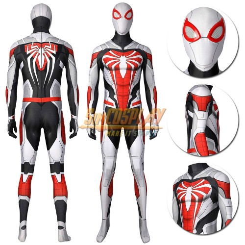 Spider-man PS5 Remastered New Armored Advanced Cosplay Suit