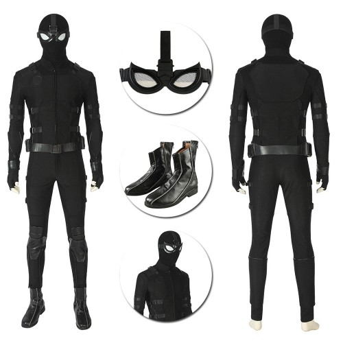 Spider-man Stealth Suit Far From Home Night Monkey Cosplay Costume Ver.2