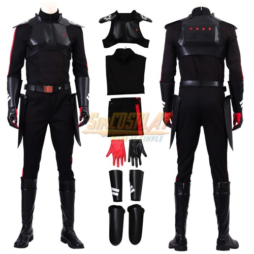 Star Wars Jedi Fallen Order Inquisitor Cal Cosplay Costumes Top Level