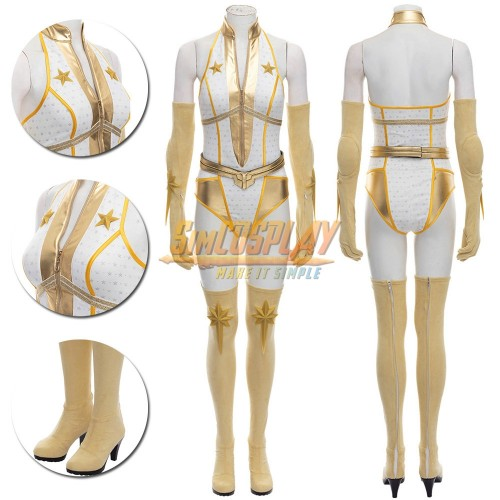 Starlight Cosplay Costumes The Boys S2 Starlight Cosplay Suit Short Edition