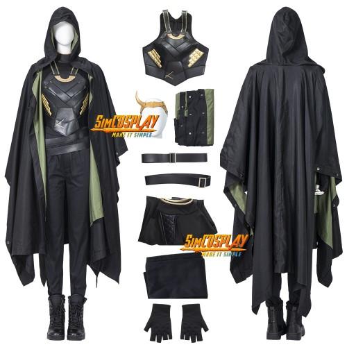 Sylvie Laufeydottir Cosplay Costume Female Variant of Loki Suit Ver.3