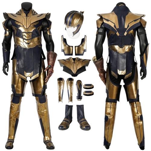 Thanos Cosplay Costumes Avengers Endgame Thanos Golden Armor Top Level