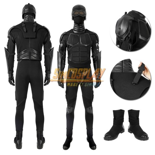The Boys Black Noir Cosplay Costume The Boys S2 Cosplay Suit Sac4603
