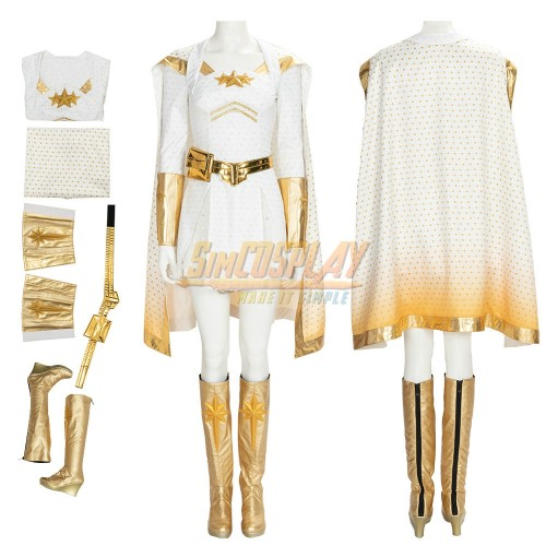 The Boys Starlight Annie Cosplay Costume S2 Edition Top Level