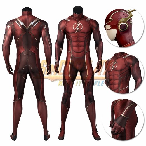The Flash Injustice 2 Cosplay Costume The Flash Spandex Cosplay Suit
