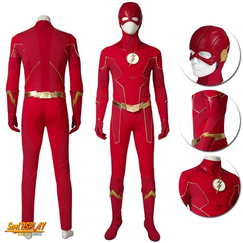 The Flash Season 6 Barry Allen Cosplay Costumes Sac19tfs6