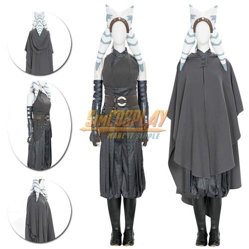 The Mandalorian Ahsoka Tano Cosplay Costumes Top Level