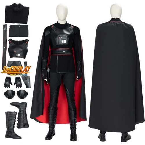 The Mandalorian Moff Gideon Cosplay Costume Vader Armor Cosplay Suit Top Level