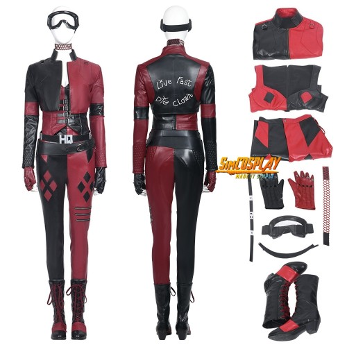 The Suicide Squad 2 Harley Quinn Cosplay Costume Top Level Ver.2