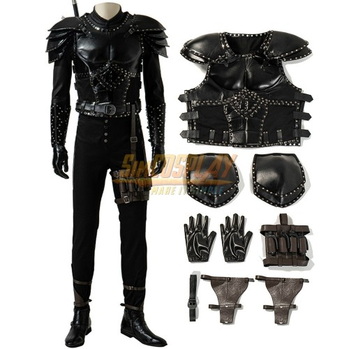 The Witcher Season 2 Geralt Cosplay Costumes Top Level