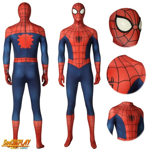 Ultimate Spider-Man Classic Cosplay Costume Red and Blue Suit Sac4270