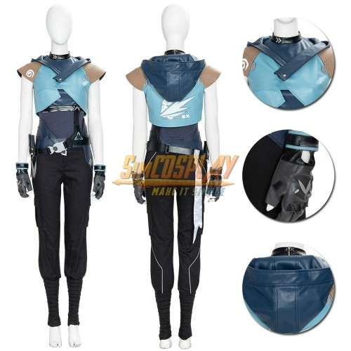 Valorant Jett Cosplay Costumes Top Level By SimCosplay